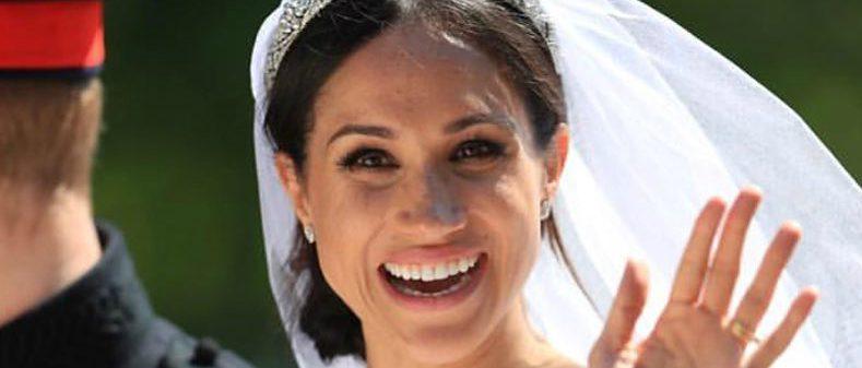 Oare s-a machiat singură Meghan Markle la nuntă?!